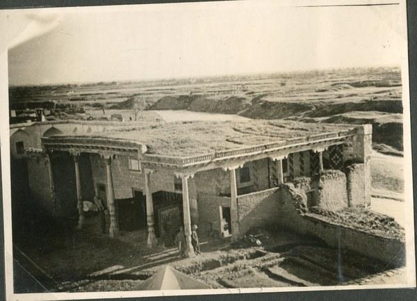 8Szpital w Medresie (budynek meczetu), Guzar IV 1942 r. AAN, Akta Leona Wacława Koca, sygn. 21.
