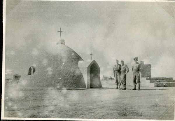 Kaplica w Guzar, 26 VI 1942 r. AAN, Akta Leona Wacława Koca, sygn. 22