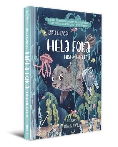 Niezwykła książka dla dzieci opowiada o foce Heli i nie tylko /materiały prasowe