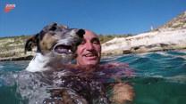 Niezwykła przyjaźń mężczyzny z psem
