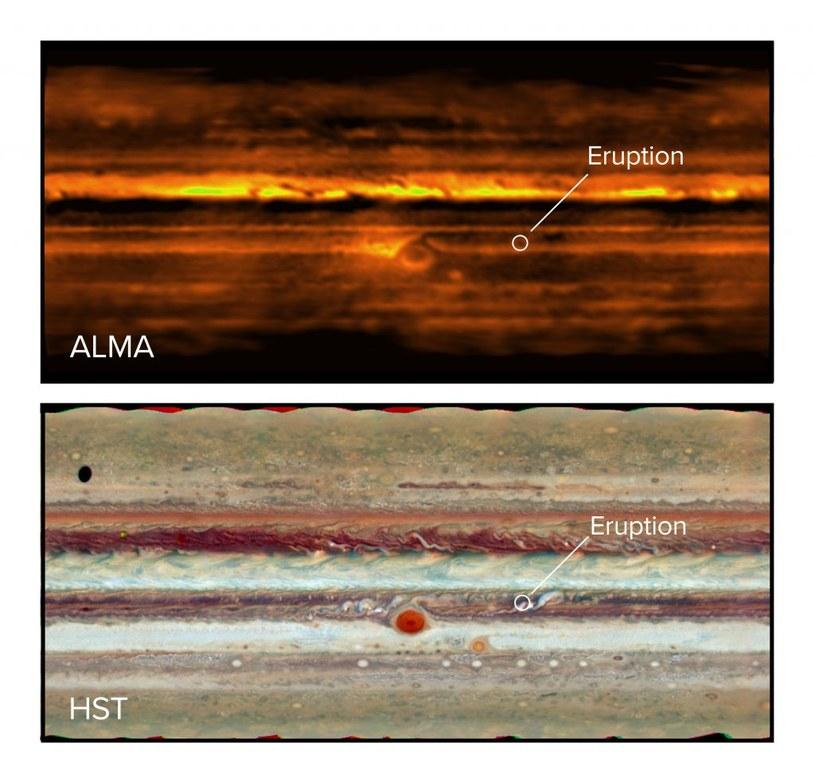 Niezwykłe burze na Jowiszu. Jak to możliwe, że powstały? /materiały prasowe