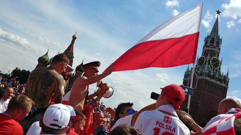 Niezwykle okazale wypadł oficjalny trening polskich kibiców przed meczem z Senegalem /INTERIA.PL