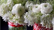 Niezwykłe ślubne aranżacje kwiatowe