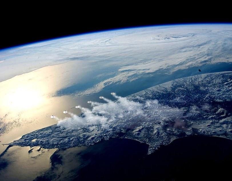 Niezwykłe struktury przypominające wulkany mogą zahamować globalne ocieplenie /materiały prasowe