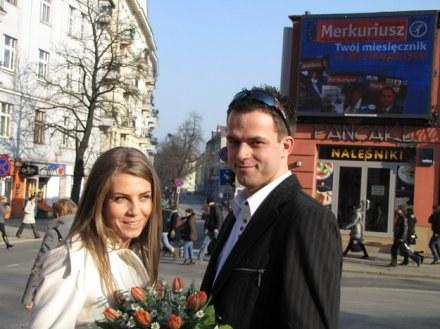 Niezwykłe zaręczyny miały miejsce w centrum Poznania /RMF