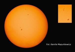 Niezwykłe zdjęcie! ISS na tle Słońca
