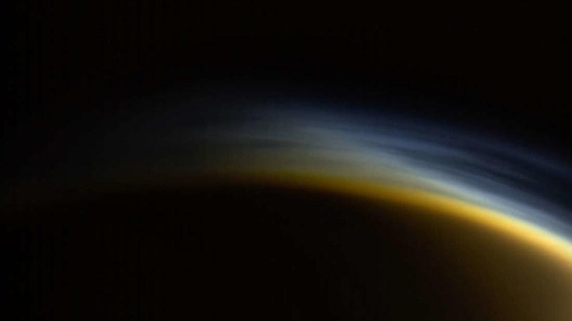 Niezwykłe zdjęcie Tytana, jednego z księżyców Saturna /NASA