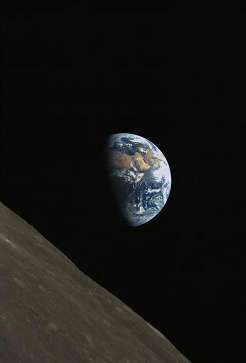 Niezwykłe zdjęcie Ziemi z Księżyca /materiały prasowe