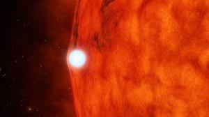 """Niezwykłe zjawisko - gwiazda jaśnieje podczas """"zaćmienia"""""""