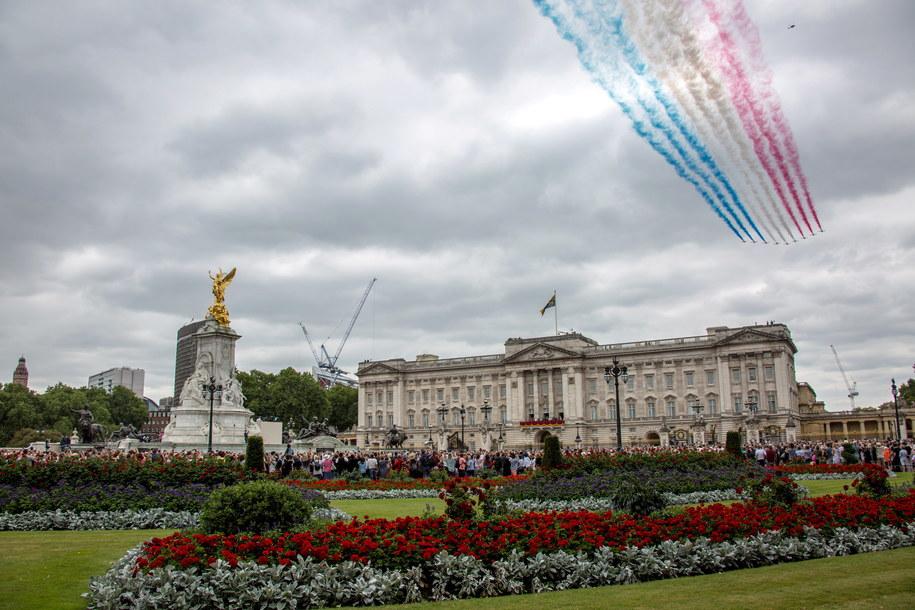 Niezwykły jubileusz stulecia Królewskich Sił Powietrznych RAF /CHRIS THOMPSON-WATTS / BRITISH MINISTRY OF DEFENCE / HANDOUT /PAP/EPA