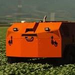 Niezwykły robot do usuwania chwastów