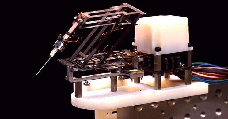 Niezwykły robot mikrochirurgiczny /materiały prasowe