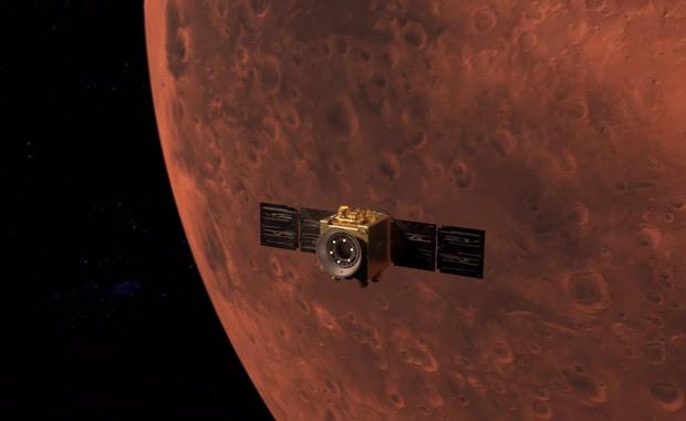 Niezwykły ruch wokół Marsa