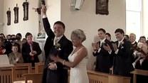 Niezwykły występ pana młodego na ślubie