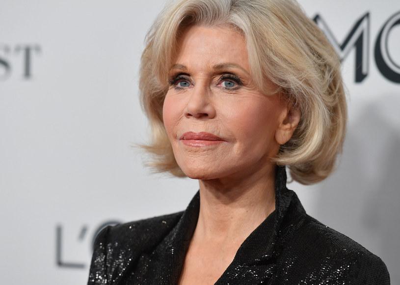 Nigdy więcej nie pójdę pod nóż - przekonuje Jane Fonda /ANGELA WEISS/AFP/East News /East News