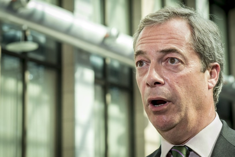 Nigel Farage /Danny Gys /Reporter