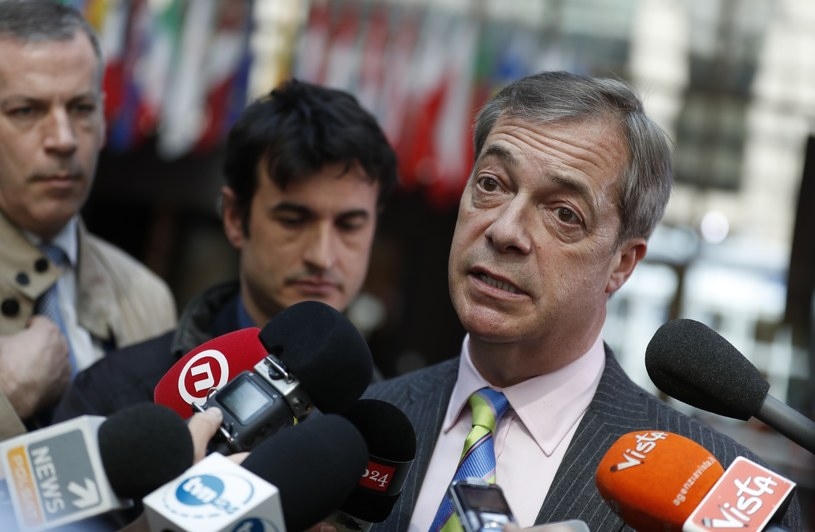 Nigel Farage /AP Photo/Alastair Grant /East News