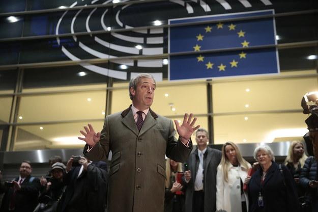 Nigel Farage /OLIVIER HOSLET /PAP/EPA