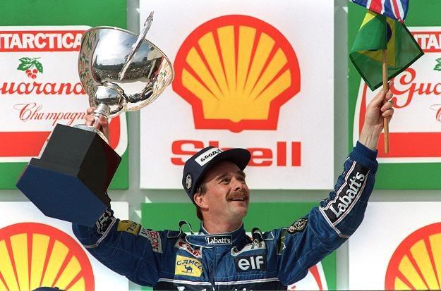 Nigel Mansell z 1992 roku. /AFP