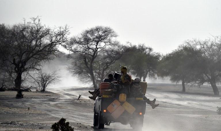 Nigeryjskie wojsko, zdj. ilustracyjne /ISSOUF SANOGO /AFP