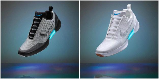 Tak wygląda od środka mechanizm samowiążących się butów Nike