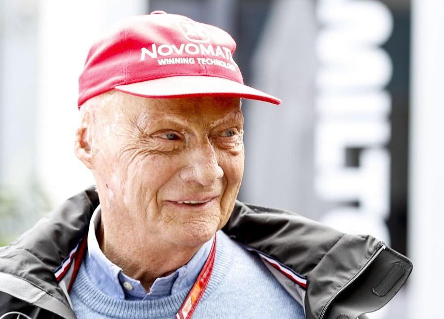Niki Lauda / DAVE ACREE /PAP/EPA