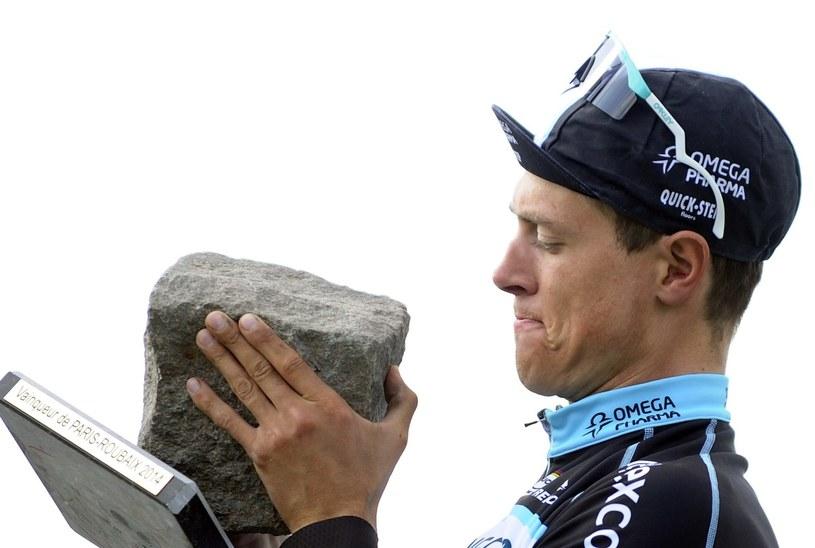 Niki Terpstra wygrał ostatnią edycję wyścigu Paryż-Roubaix /AFP