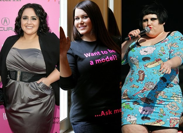 Nikki Blonsky, Courtney Maxwell, Beth Ditto /Getty Images/Flash Press Media