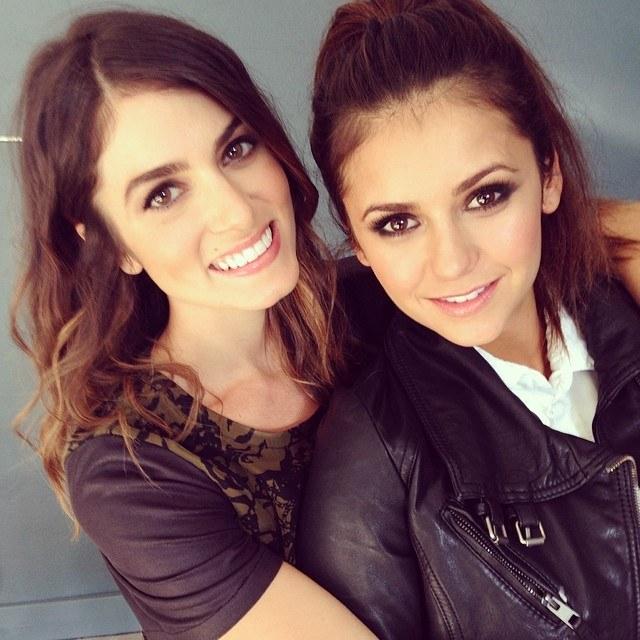 Nikki często publikowała na Instagramie zdjęcia z Niną. Ostatnie pochodzi z marca 2014. /Instagram /internet