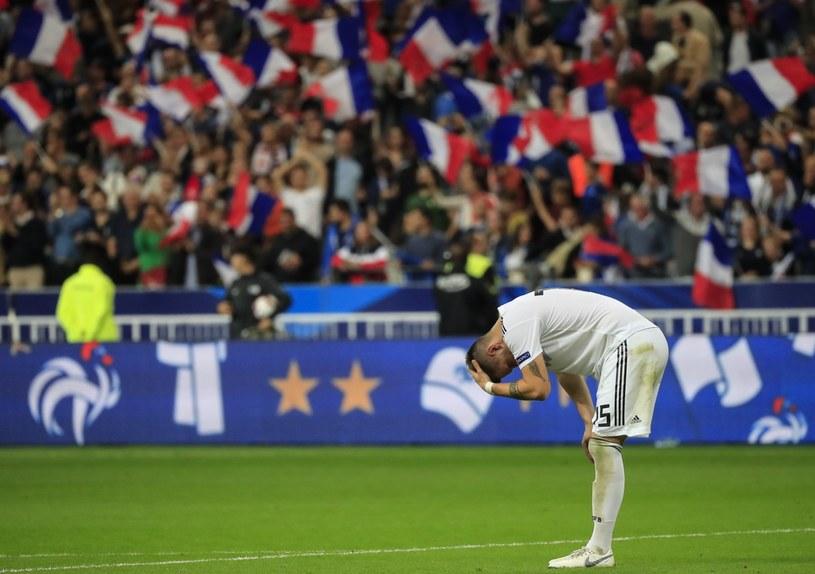 Niklas Suele załamany po utracie gola przez Niemcy w meczu z Francją /PAP/EPA