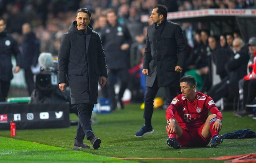 Niko Kovacz nie ma łatwej sytuacji w Bayernie. Sprzedany został jedyny zmiennik Roberta Lewandowskiego /PATRIK STOLLARZ /AFP