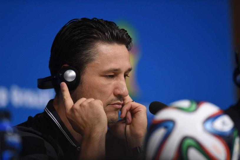 Niko Kovacz, selekcjoner piłkarskiej reprezentacji Chorwacji /AFP