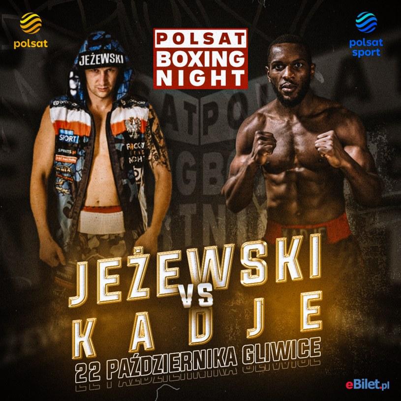 Nikodem Jeżewski vs Samuel Kadje w walce wieczoru PBN 11 /materiały prasowe /