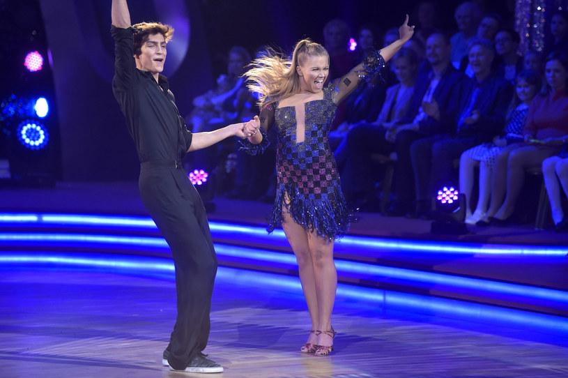 """Nikodem Rozbicki i Agnieszka Kaczorowska. """"Dancing with the stars. Taniec z gwiazdami"""" (5. edycja) /AKPA"""