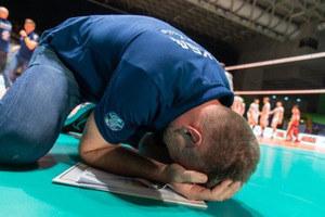 Nikola Grbić popłakał się ze szczęścia po triumfie w finale Ligi Mistrzów /www.cev.eu