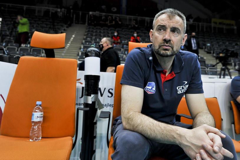 Nikola Grbić świetnie zna się z Sebastianem Świderskim /Marcin Bulanda / PressFocus / NEWSPIX.PL /Newspix