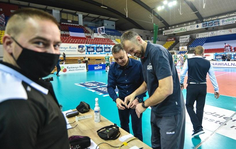 Nikola Grbić (z prawej) i Igor Kolaković / RAFAL RUSEK / PRESSFOCUS / NEWSPIX.PL /Newspix