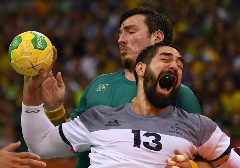 Nikola Karabatic w meczu z Brazylią /PAP/EPA