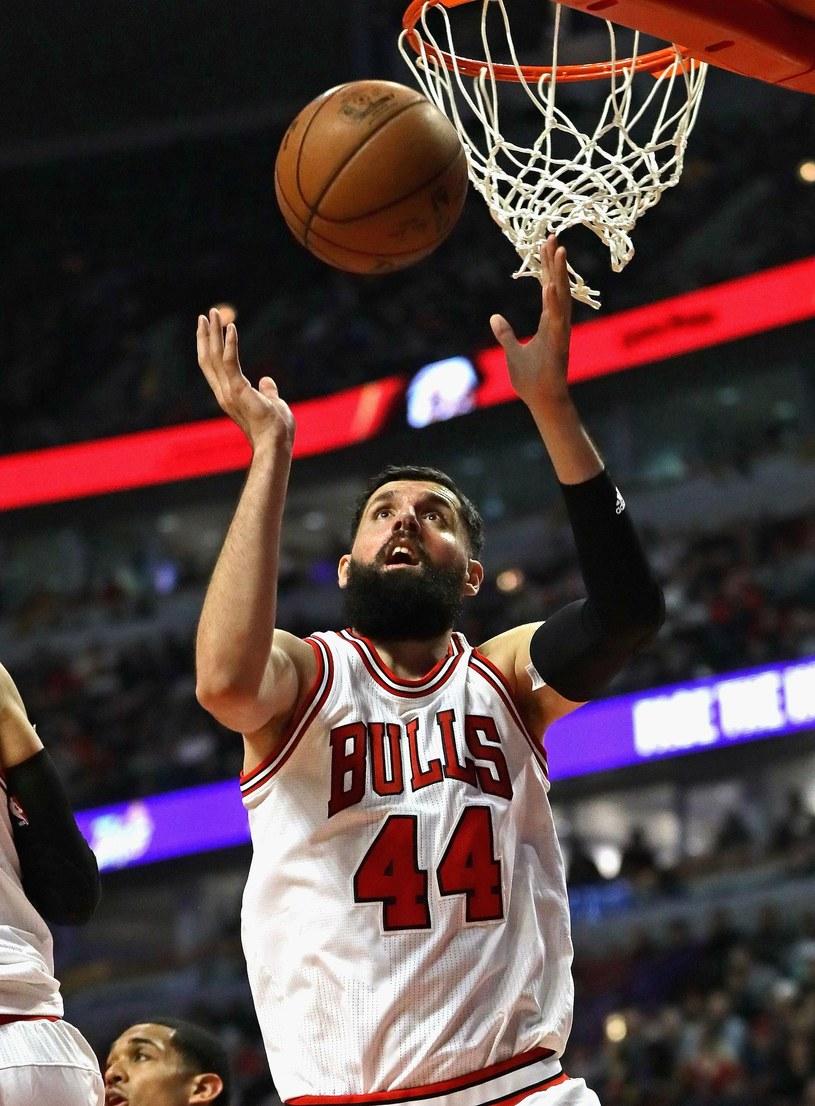 Nikola Mirotić poprowadził Chicago Bulls do zwycięstwa /AFP
