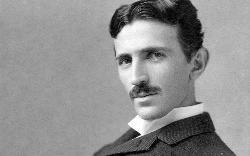 Nikola Tesla, zdjęcie wykonane w 1890 roku przez Napoleona Sarony /Wikipedia