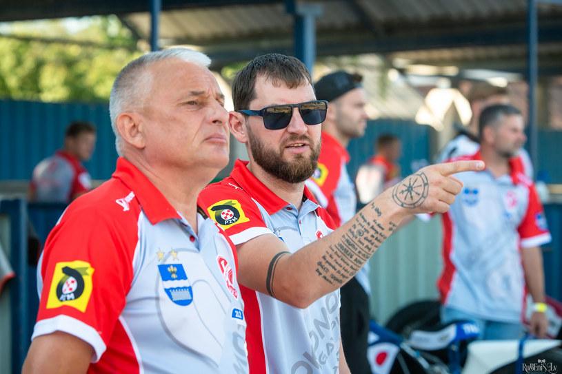 Nikołaj Kokin i Maksim Bogdanow /Romualds Rubenis /Flipper Jarosław Pabijan