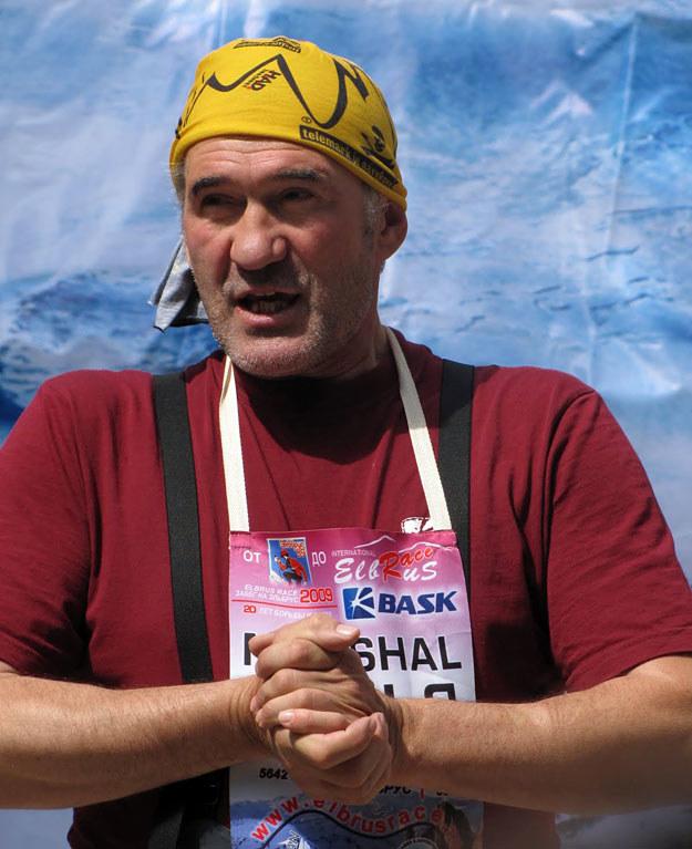 Nikołaj Szustrow /fot. Elbrus Race /