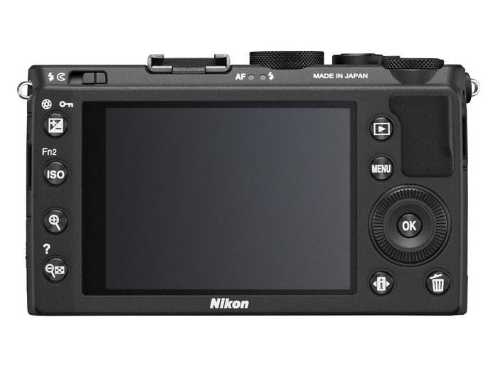 Nikon Coolpix A - tył obudowy /materiały prasowe