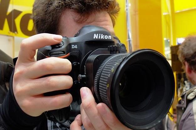 Nikon D4 /INTERIA.PL