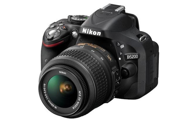 Nikon D5200 /materiały prasowe