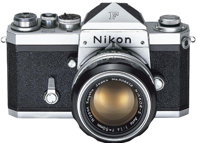 Nikon F /materiały prasowe