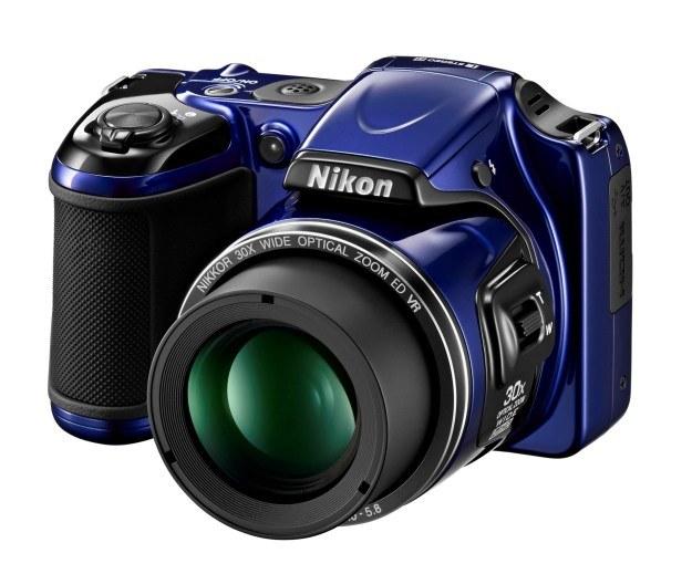Nikoni COOLPIX L820 /materiały prasowe