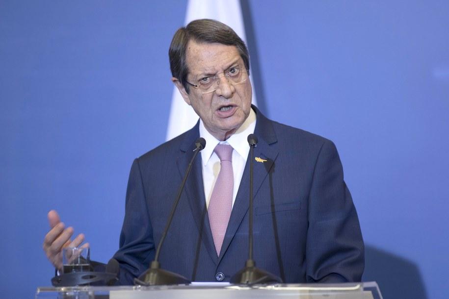 Nikos Anastasiades /SOTIRIS BARBAROUSIS /PAP/EPA
