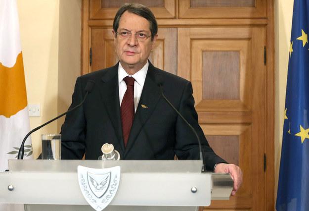 Nikos Anastasiadis, prezydent Cypru /AFP