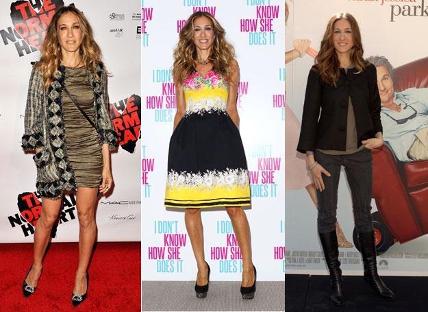 Nikt nie potrafi bawić się modą z takim wdziękiem jak Sarah Jessica Parker /Getty Images/Flash Press Media